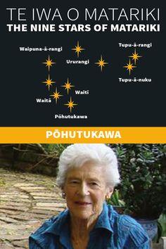 Te Iwa o Matariki Maori Words, Maori Symbols, Marine Plants, Winter Sky, The Nines, Above And Beyond, Early Childhood Education, Kiwi, Climate Change