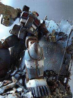 Attack Diorama by pbqjh776 | Gundam Century