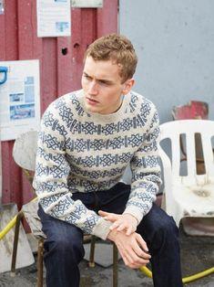 Knit Shirt, Shirt Dress, Fair Isle Knitting Patterns, Street Wear, Men Sweater, Fair Isles, Beige, Wool, Sweaters