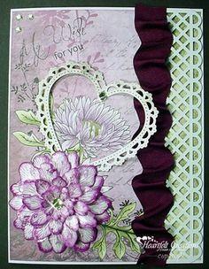 Heartfelt Creations   Tattered Blossoms My Wish
