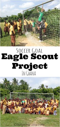 Soccer Goal Eagle Scout Project in Ghana by Capturing-Joy.com