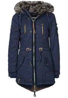 Naketano winter jacket size M Casual Fall Outfits, Fall Winter Outfits, Autumn Winter Fashion, Blue Fashion, Look Fashion, Winter Coats Women, Winter Jackets, All Black Dresses, Love Clothing