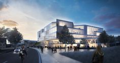 Henning Larsen Architects Wins Competition to Design a New Forum at Lund University,Courtesy of Henning Larsen Architects
