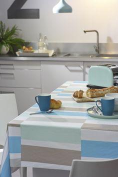 Toile cirée Vénilia Collection 2017 Blackjack blue 54115
