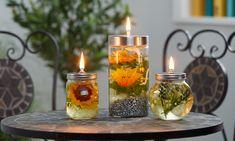Windlicht, Kerze, Öllampe oder doch lieber eine Laterne. Auf der Terrasse oder Garten ein Must-Have. Wie man eine Öllampe selber macht, zeig ich euch hier!