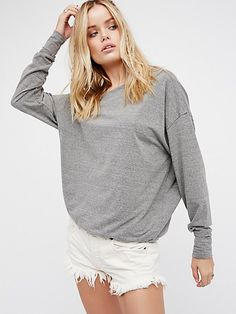 51df79a1a4b Soft   Relaxed Cut Off at Free People Jeans For Short Women