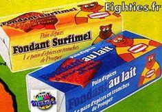 paquets de pain d'epices prosper de vandamme annees 80