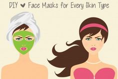 The best tried & true DIY face masks for every skin type.