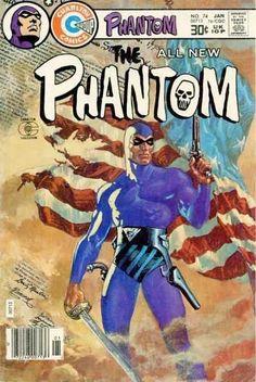 Items similar to The Phantom 74 comic, Vintage book. 1977 Charlton, VF on Etsy Free Comic Books, Marvel Comic Books, Comic Book Covers, Comic Book Heroes, Comic Books Art, Comic Art, Comic Book Companies, Phantom Comics, Charlton Comics