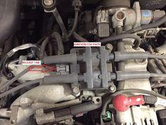 "Ignition Coil Testing ""Waste spark ignition sytem"": A subaru waste spark coil pack.  #Subaru #subaruidiots #WRX #STi #Turbo #Impreza #Boost #Enthusiast #Subarulove"