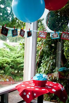 "Photo 3 of 75: Dr Seuss Thing 1 Thing 2 / Birthday ""Thing 1 Thing 2 Twins First Birthday Party"" 