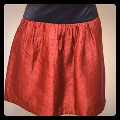 Maurice's Red Skirt Maurice's Red Skirt with Oversized Black Elastic Waistband. Make me an offer!  Want discounted shipping? Just ask!  Happy to reduce the price 10% to help you save more! Maurices Skirts Mini