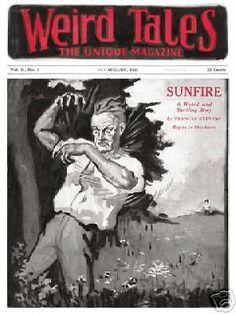 Weird Tales #5 Jul/Aug 1923 Girasol Pulp Replica
