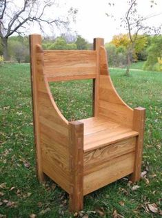 Norse Chair; I'm thinking it would make a lovely portable & storage seat with some minor modification.
