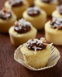 coconut nutella cupcakes :D