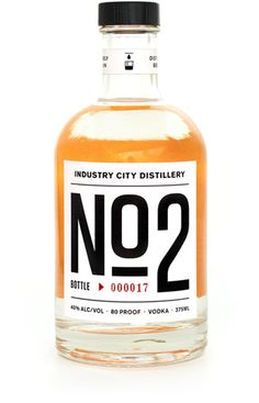 Nice typographic Vodka packaging N°2