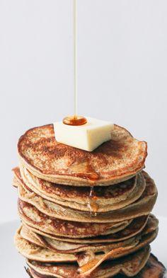2-Ingredient Healthy Pancakes (Gluten, Grain, and Dairy Free — No Added Sugar)