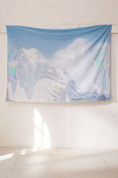Slide View: 2: Dom Sebastian Glacier Glitch Tapestry