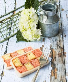 """lynn clark on Instagram: """"Double Battenberg - I was going to make two smaller, traditional Battenberg cakes and then I thought it would make a nice slice size to…"""" Sugar And Spice, Things To Think About, Spices, Cakes, Traditional, Recipes, Instagram, Food, Spice"""
