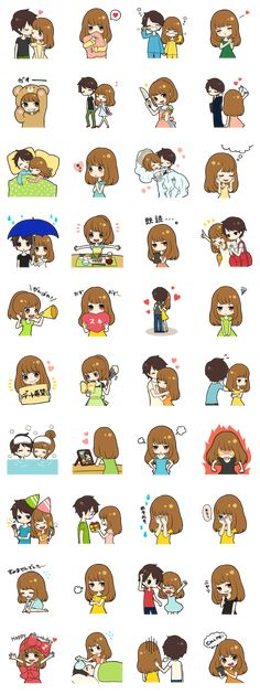 love birds - LINE Creators' Stickers