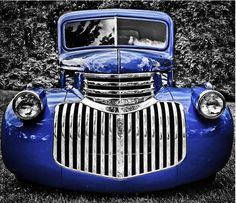 Adding a color effect in black and white photography is a very popular technique in professional photographers. Here we post a collection of Beautiful Color Touch Black and White Photos for your inspiration. 1946 Chevy Truck, Chevy Trucks, Toyota Trucks, Antique Trucks, Vintage Trucks, Cool Trucks, Big Trucks, Classic Trucks, Classic Cars