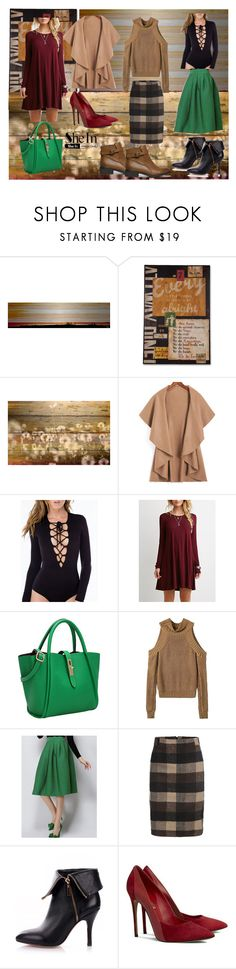 """""""Fall Pickings from Sheinside"""" by gabriele-bernhard ❤ liked on Polyvore featuring Parvez Taj, vintage, Sheinside and shein"""