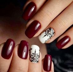 Christmas Red Stiletto Nail Art Ideas - Easy Designs for Holiday Nails Nail Art Design Gallery, Gel Nail Art Designs, Classy Nail Designs, Red Stiletto Nails, Gel Nails, Nail Nail, Nail Glue, Polish Nails, Acrylic Nails