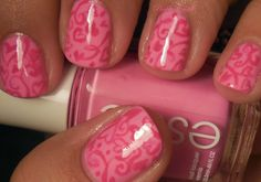 Pink Crazy - Valentines Day Nails