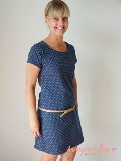 Schnittmuster / Ebook  Kleid lillesol women No.19 Raglan-Kleid & Shirt / Nähen Shirt oder Kleid / sewing pattern Raglan dress & shirt