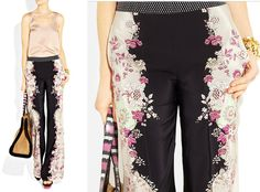 ...love Maegan | : Pretty Floaty Floral Printed Pants Fashion + DIY + Home + Lifestyle