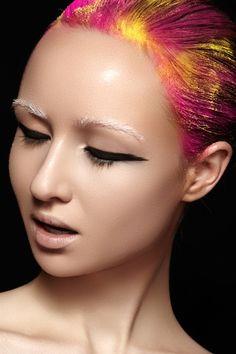 Veux Magazine issue 10.  Photographers — Marina & Artem, MUA — Marina Morozova, model — Ksenia Danilina #fashion #beauty #makeup
