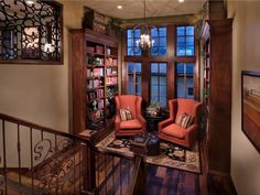 Reading Nook on Stairs