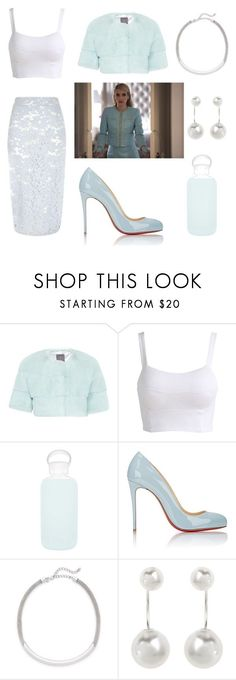 """""""Chanel Oberlin Style #2"""" by supreme1black ❤ liked on Polyvore featuring Lilly e Violetta, bkr, Christian Louboutin, Kenneth Jay Lane, Accessorize and River Island"""