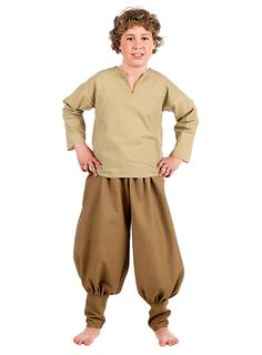 Mittelalter Kleidung Junge für Kinder