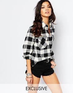 Image 1 of Reclaimed Vintage Oversized Checked Shirt