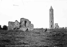 Devenish Island Ruins, Lower Lough Erne, Co. Fermanagh