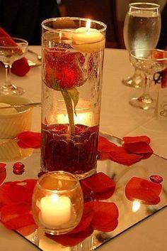 Elegant Bridal Shower Table Centerpieces | Simple elegant centerpieces wedding pictures 2
