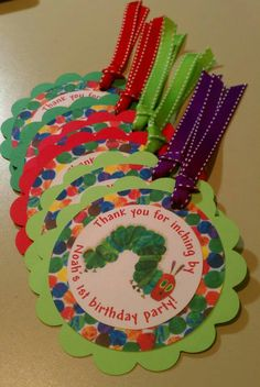 what a cute idea for a birthday party