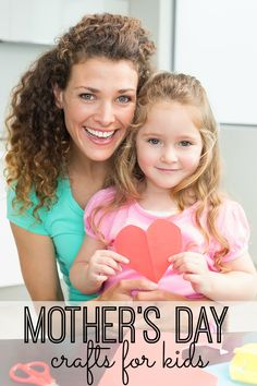 To help your kids celebrate you on this special day, we pulled together 20  Mother's Day Crafts for kids of all ages can do to remind you how much they love you!