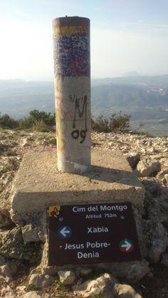 #Montgó- Denia- Spain- at the top