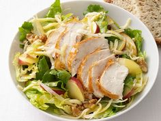 Chicken and Apple Salad Recipe : Food Network Kitchen : Food Network - FoodNetwork.com