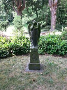 Langley Cemetery, Whidbey Island, WA Whidbey Island Washington, Seattle Washington, Cemetery, Garden Sculpture, Outdoor Decor