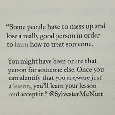 just a lesson