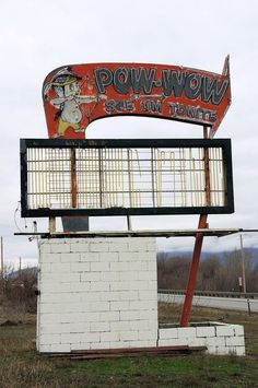 POW-WOW DRIVE-IN Oroville, Wash. Opened: unknown Closed: unknown