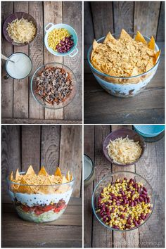 sałatka król imprezy Cereal, Salads, Easy Meals, Food And Drink, Cooking, Breakfast, Design, Kitchens, Crickets