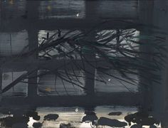 "Alex Katz, ""Night Branch"" (1994) (Tate Modern, 12 July 2014)"