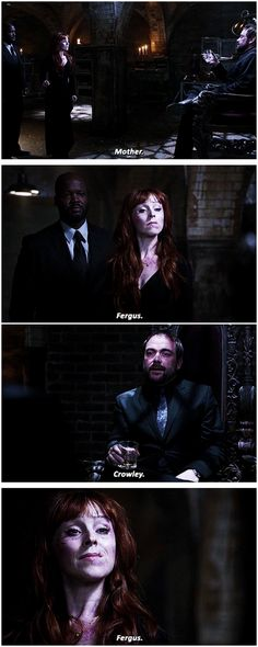 [gifset] 10x09 The Things We Left Behind #SPN #Crowley #Rowena