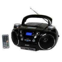 Jensen Portable stereo CD Player AM FM Radio music Boombox Encoder usb port Radios, Ipod, Cheap Car Audio, Mp3 Player, Digital Audio, Boombox, Wireless Speakers, Bluetooth, Musica