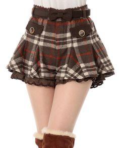 Can I make shorts like this plz Liz Lisa plaid mini shorts Quirky Fashion, Kawaii Fashion, Cute Fashion, Asian Fashion, Fashion Outfits, Womens Fashion, Cute Skirts, Mini Skirts, Skirt Outfits