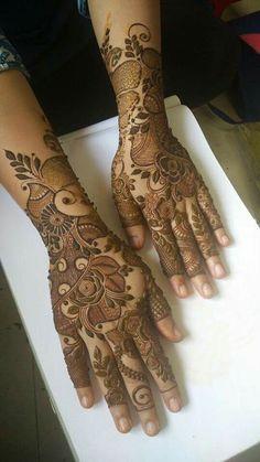 Henna is for you Khafif Mehndi Design, Rose Mehndi Designs, Full Hand Mehndi Designs, Modern Mehndi Designs, Mehndi Design Pictures, Wedding Mehndi Designs, Mehndi Designs For Fingers, Dulhan Mehndi Designs, Beautiful Henna Designs
